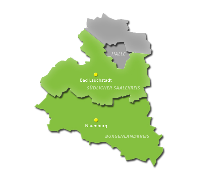Versorgungsgebiet APZ Saalekreis